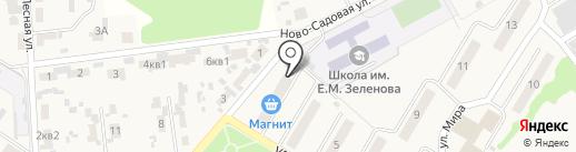 Ветерок на карте Новосемейкино