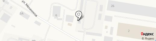 Волжскийрайгаз на карте Смышляевки