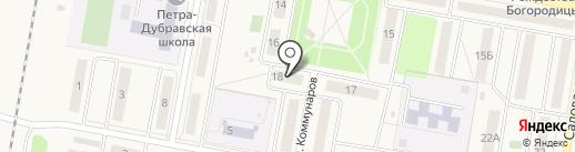 Пятерочка на карте Петры Дубравы