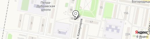 Покупочка на карте Петры Дубравы
