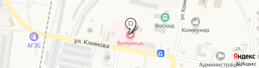 Петра-Дубравская поселковая больница на карте Петры Дубравы