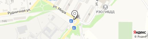 Хмельница на карте Новосемейкино