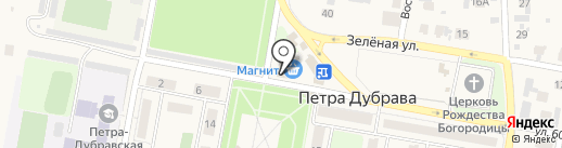 Родниковый источник на карте Петры Дубравы