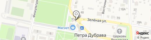 Роспечать на карте Петры Дубравы