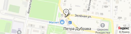 Табачная лавка на карте Петры Дубравы