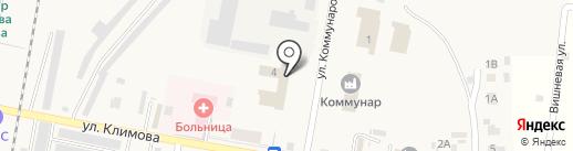 Элика на карте Петры Дубравы