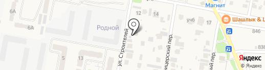 Авангард Строй Самара на карте Петры Дубравы
