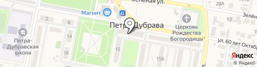 Семь+Я на карте Петры Дубравы