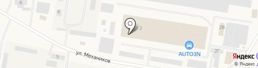 Деловые Линии на карте Смышляевки