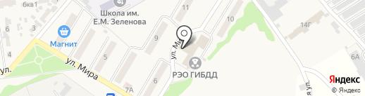VINМАСТЕР на карте Новосемейкино