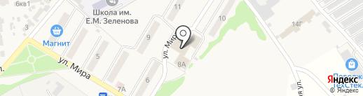 Автостекло на карте Новосемейкино