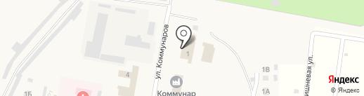 Пожарная часть №21 на карте Петры Дубравы