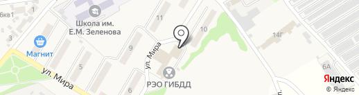 Музыкальная школа им. О.В. Черкасовой на карте Новосемейкино