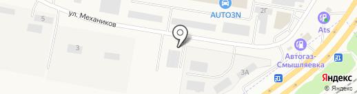 ВторЦветЧерМет на карте Смышляевки