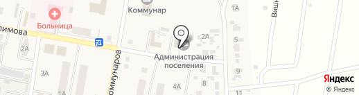 Администрация городского поселения Петра-Дубрава на карте Петры Дубравы