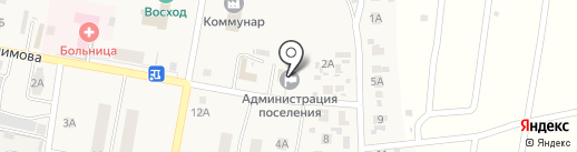 Жигули-Телеком на карте Петры Дубравы