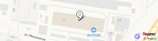 Велоцентр на карте Смышляевки