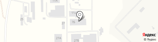 Поиск на карте Новосемейкино