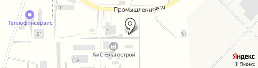 Пожарная часть №151 на карте Новосемейкино