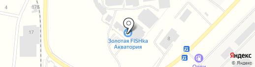 Акватория на карте Новосемейкино