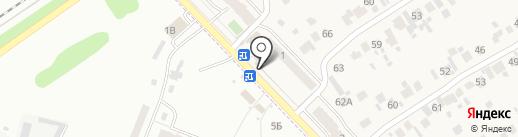 Магазин автозапчастей на карте Смышляевки