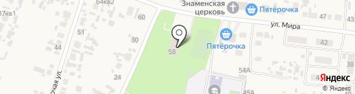 Звезда на карте Черноречья