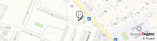 Магазин по продаже печатной продукции на карте Смышляевки