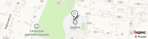 Чернореченская средняя общеобразовательная школа на карте Черноречья