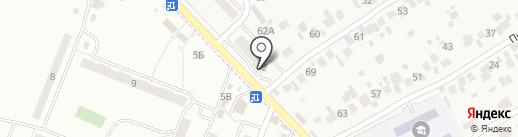 Магазин нижнего белья на карте Смышляевки
