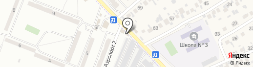 Магазин хозтоваров на карте Смышляевки