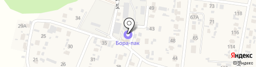 Бора Пак на карте Красного Яра