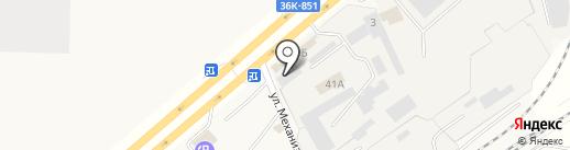 Артель Мастеров кузовного ремонта на карте Смышляевки