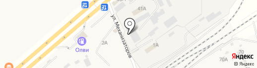 РусАгроСеть-Самара на карте Смышляевки