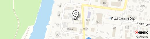 Магазин круп на карте Красного Яра