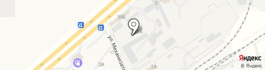 БАМ Саранск на карте Смышляевки