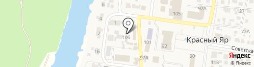 Магазин овощей и фруктов на карте Красного Яра