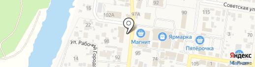 Пивзавод на карте Красного Яра