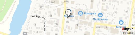 ЗдравСити на карте Красного Яра