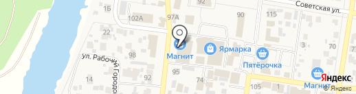 Кладовка на карте Красного Яра