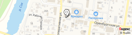 Парикмахерская на карте Красного Яра
