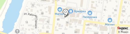 Общепит-сервис на карте Красного Яра