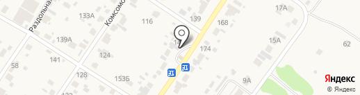 Орловский на карте Смышляевки