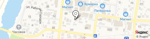 Мясная лавка на карте Красного Яра