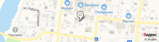 Пульс на карте Красного Яра