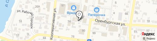 Пятерочка+ на карте Красного Яра