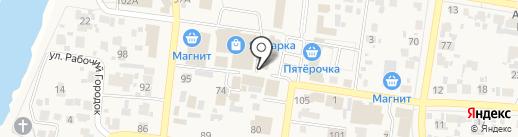 Фонд социального страхования РФ на карте Красного Яра