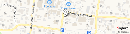 Киоск по продаже колбасных изделий на карте Красного Яра