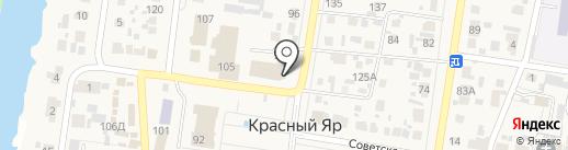 Земельный центр на карте Красного Яра