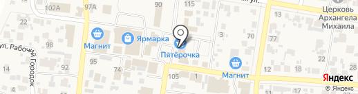 Билайн на карте Красного Яра