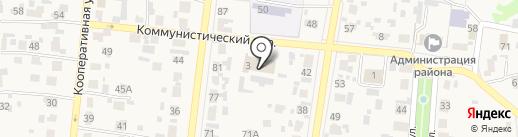 Светлое на карте Красного Яра